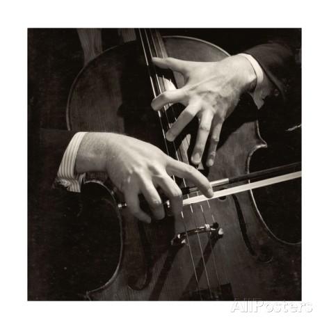 Mstislav Rostropovich's Hands By: Lotte Meitner-Graf