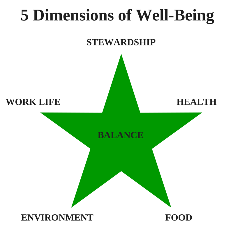 5 Dimensions of Well-Ness
